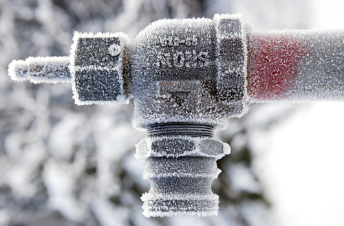 Don't Take Risks With Frozen Pipes