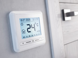 Resetting the Programmable Thermostat for Colder Weather