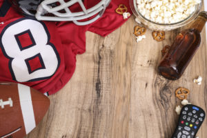 How to Host a Football Watch Party that Keeps Guests Comfortable